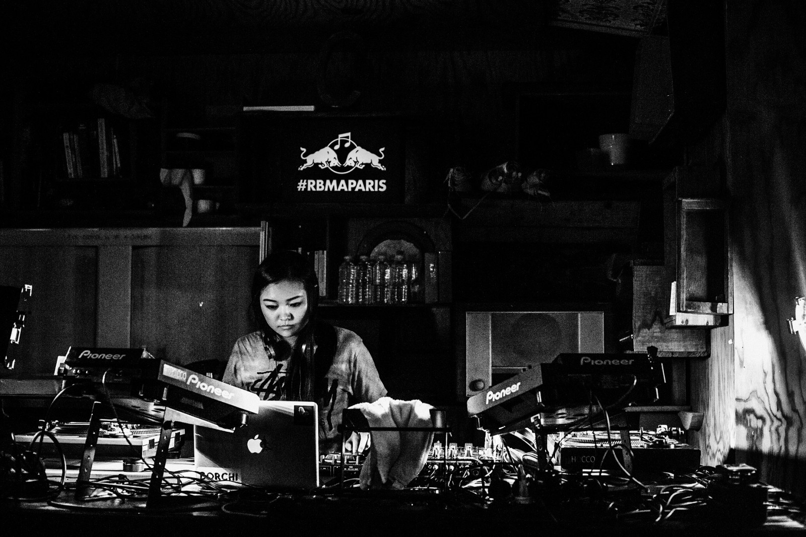 Miso at Revolution 808 during the Red Bull Music Academy in Paris, October 25 to November 27, 2015